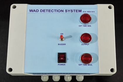Wad-Detection-System-Control-Panel
